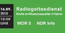 WDR5 Radiogottesdienst
